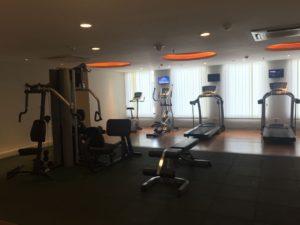 トレーニングルーム。