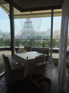 チャノマ席からの眺めです。