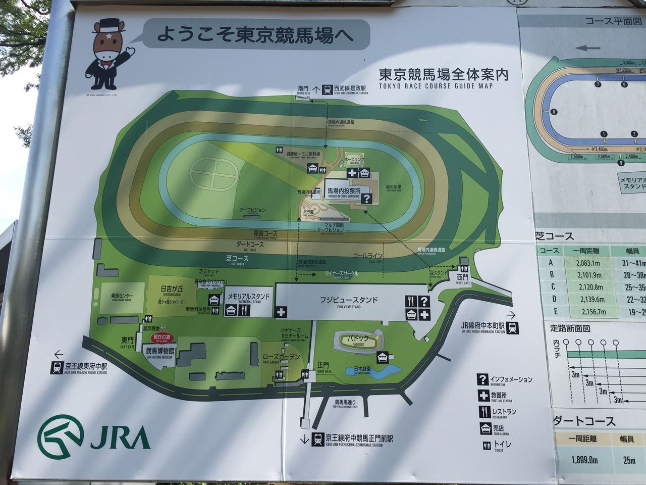 東京競馬場の公園で水遊び おススメは馬シャ馬シャパークの噴水