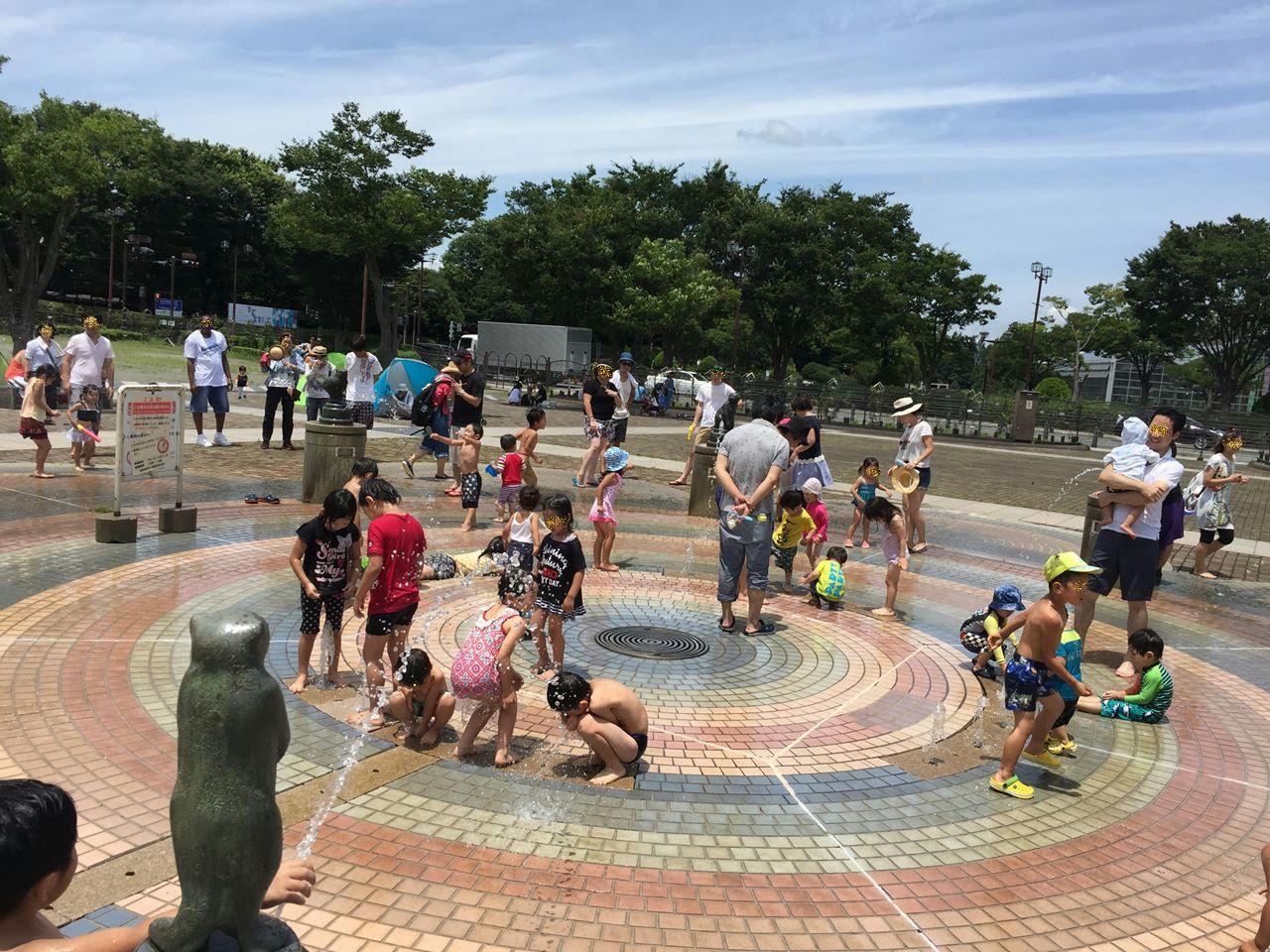 じゃぶじゃぶ池・水遊びが楽しい横浜近くの公園まとめマップ