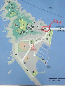 江の島の入り口あたりがポケモンポイントです!