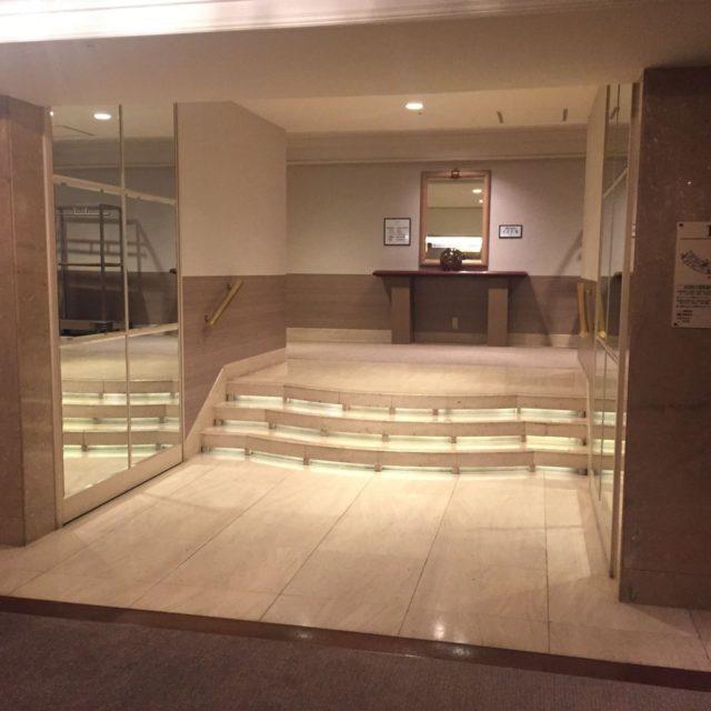 クラブルームに宿泊ですのでチェックインは12階のクラブラウンジで行います。