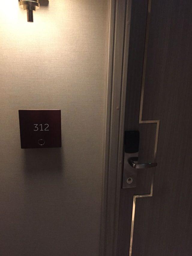 アサインされたお部屋は3階のファミリールーム