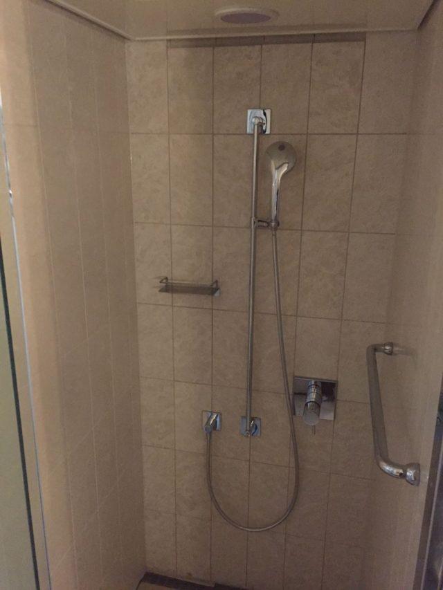 シャワーブースがあるのがファミリールームならではですね。