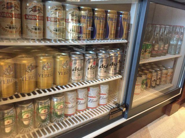 ビールも種類豊富です。ウメッシュがあるのが驚きでした。