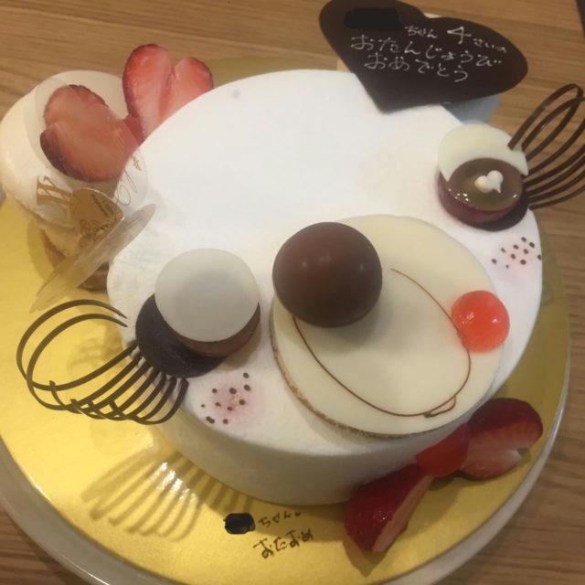 ユウジアジキでお誕生日ケーキ!|国内スイーツ部門2位のお店ユウジアジキ