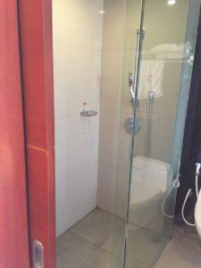 シャワールーム。バスタブはありません。