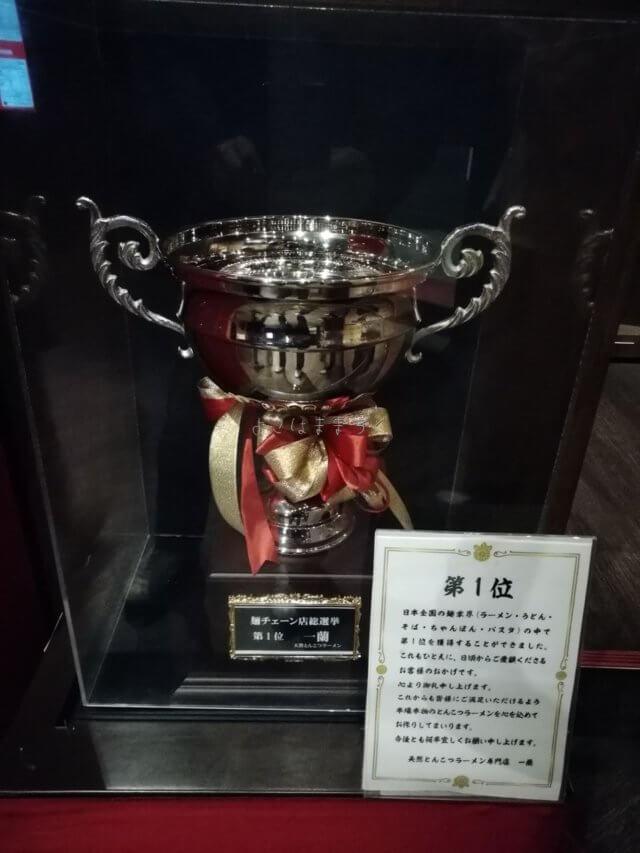 麺チェーン店総選挙No1