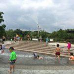 高速道路SAPAで水遊び!刈谷ハイウェイオアシスでじゃぶじゃぶ池