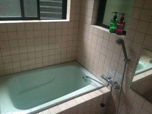 お風呂はちょっと残念でした。こちらだけ築年数を感じる設備になっています。(笑)
