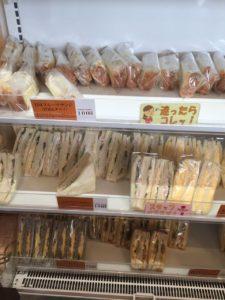 サンドイッチも100円です!