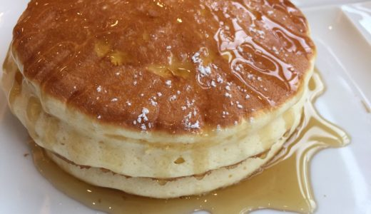 大江ノ郷ココガーデンのパンケーキ|二つ星級の美味しさ