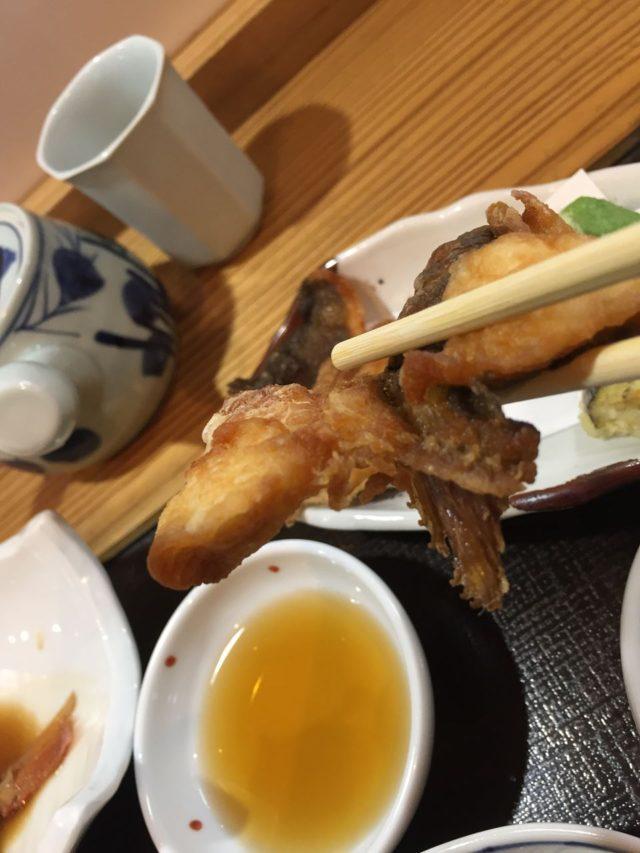 お魚の揚げ物も美味しかったです。