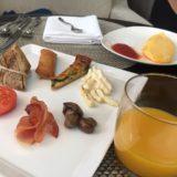 東京マリオットで無料でいたける朝食。マリオットオムレツが最高です。