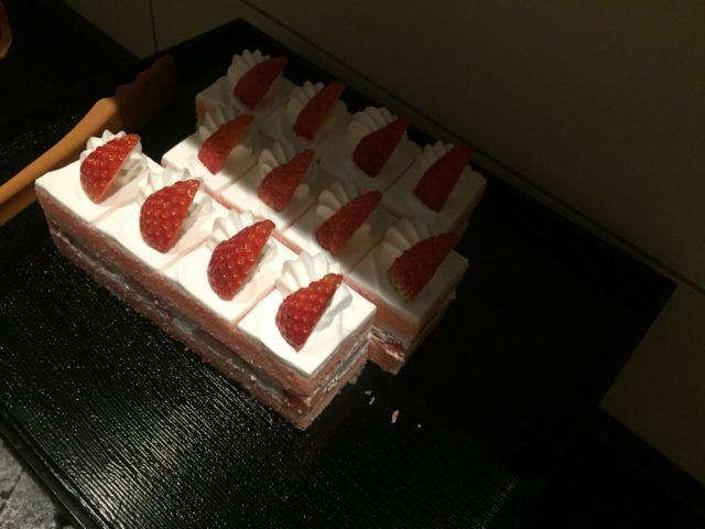 長男お気に入りのショートケーキ