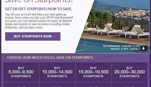 SPGポイントの30%割引キャンペーン|2017年4月30日まで