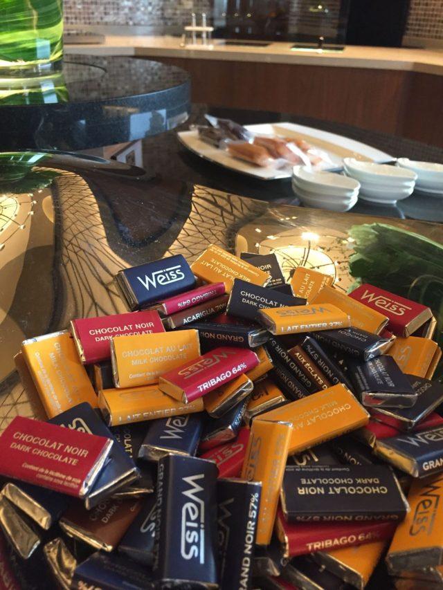 なんとWeissのチョコレートもオールデイズスナックです。