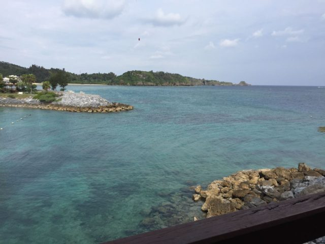 コーラルシービューからの眺望。ザ・リゾート!