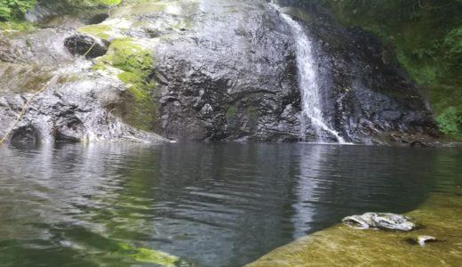 豊英大滝(とよふさ)の天然滑り台で水遊び!千葉県君津市