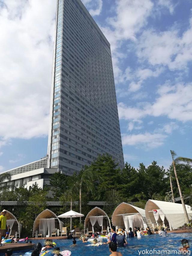 シェラトン宮崎のガーデンプール