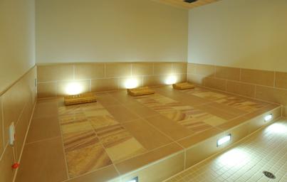 伊豆マリオット修善寺の岩盤浴