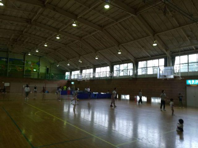 ラフォーレ修善寺の体育館
