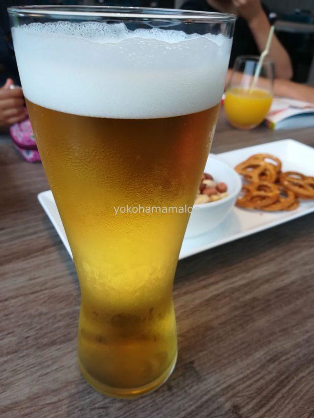 もちろんビールも飲み放題です。