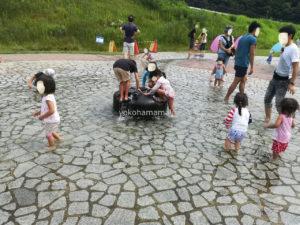 境川遊水池公園で水遊び|おススメのランチスポットも紹介