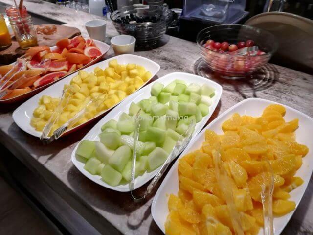 美味しそうなフルーツです。