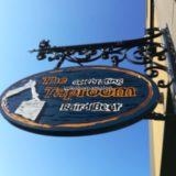 ベアードブルワリーガーデン修善寺の看板。おしゃれな感じです。