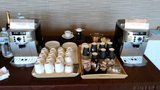 伊豆マリオット修善寺ラウンジのコーヒーはお持ち帰り可能なようです。