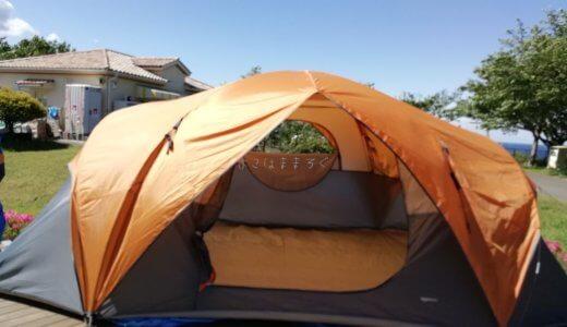 Amazonベーシック8人用テントはファミリーキャンプにおすすめ