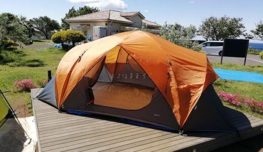 ソレイユの丘キャンプ場|デッキ付きオートキャンプサイトで初キャンプ