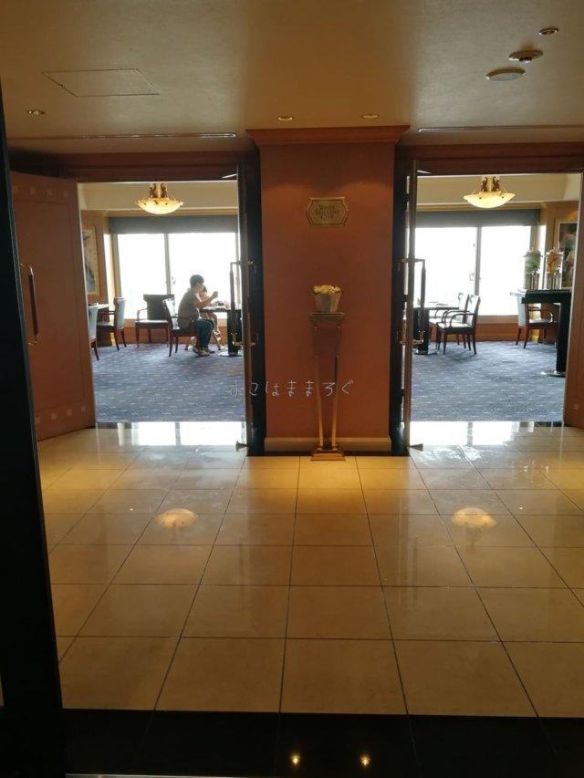 ウェスティンホテル東京のエグゼクティブクラブラウンジはの17階です。