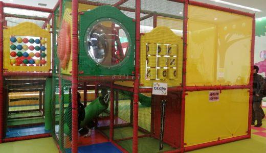 木更津アウトレットの穴場遊び場|無料のキッズパークで買い物を満喫