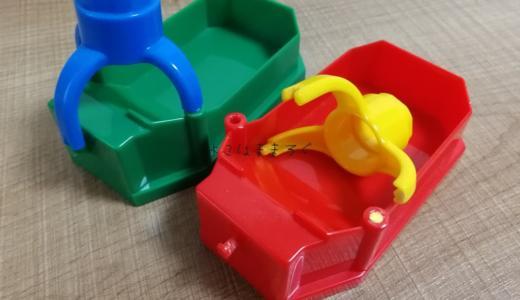 100均の強力接着剤エポキシ2液混合型でおもちゃを修理